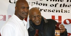 Evander Holyfield & Mike Tyson -- Did You Hear? They Hung Out Together!