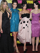"Ashley Benson Busts Out at ""Spring Breakers"" Premiere"