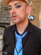 See Boy George&#039;s Shocking Weight Loss!