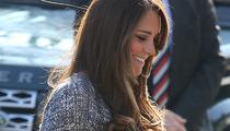 Kate Middleton Debuts Her Baby Bump