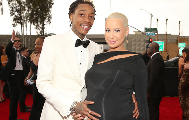 Amber Rose and Wiz Khalifa Welcome Baby Boy!