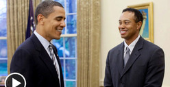 President Barack Obama -- Tiger Woods Isn&#039;t The Only Cheater I Know