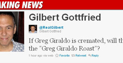 Gilbert Gottfried Roasts Greg Giraldo -- Too Soon?! 