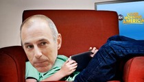 'Today' -- Where In the World Is Matt Lauer ... Seriously