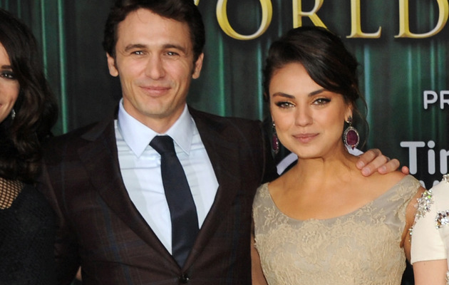 James Franco Interviews Mila Kunis About Paparazzi, Aging in Hollywood