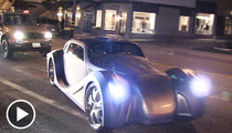 Will.i.am -- CAR MYSTERY SOLVED ... $900K Ride Is Mine!!!