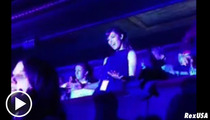 Jessica Biel -- ROCKIN' OUT at Justin Timberlake Concert