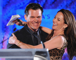 Josh Brolin and Diane Lane -- Before the Split