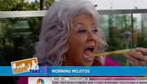 Paula Deen -- DRUNK On 'Today' Show ... Or Just Goofy??