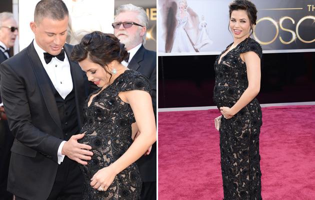 Jenna Dewan's Oscar Baby Bump!