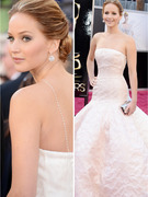 Jennifer Lawrence Stuns In Dior at the Academy Awards