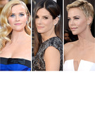 2013 Oscars -- Who Had the Most Fabulous Hair?