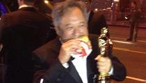 Ang Lee's Oscar Celebration -- ANIMAL STYLE!