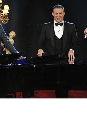 Jamie Foxx, Jimmy Kimmel's Raunchy Song About Channing Tatum