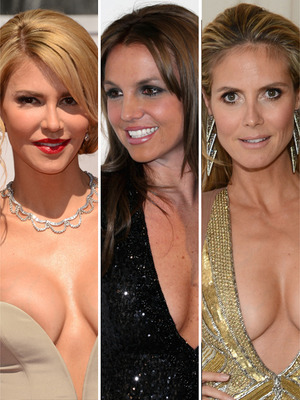 Most Fabulous Oscar Decolletage -- You Decide!