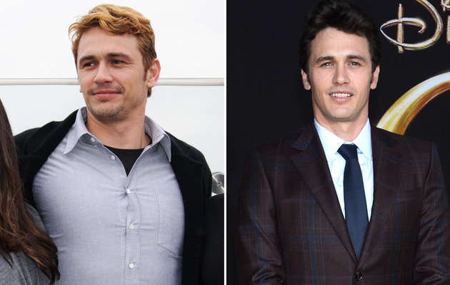 James Franco Debuts Bleached 'Do!