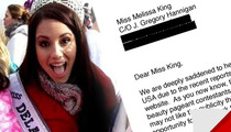 Melissa King -- Miss Delaware Teen USA Offered $250,000 Porn Contract