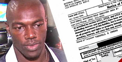 IRS to Terrell Owens -- Go Looooooong ... &amp; Catch This $430k Tax Bill!