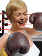 But Michelle Williams, You're Too Adorable to Be A Boxer!
