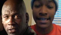 Michael Jordan -- I Am NOT The Father!