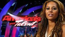 Mel B -- BOOED on 'America's Got Talent'