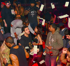 Drake -- $50,000 Rainmaker at Charlotte Strip Club
