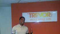 SF 49ers Player Chris Culliver -- All Smiles at Gay Support Org. [Photo]