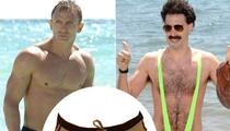 Borat Makes 'Sexytime' in 007's Suit