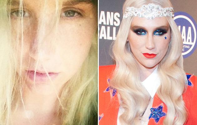Ke$ha Kleans Up -- See Her Without Makeup!