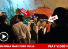 Chris Brown EXPLODES AT VALET ... Over