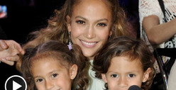 Jennifer Lopez -- Educating Twins Costs Four Arms and Four Legs