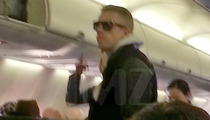 Macklemore Thrift Flying -- That's a Bargain Bitch! [PHOTO]