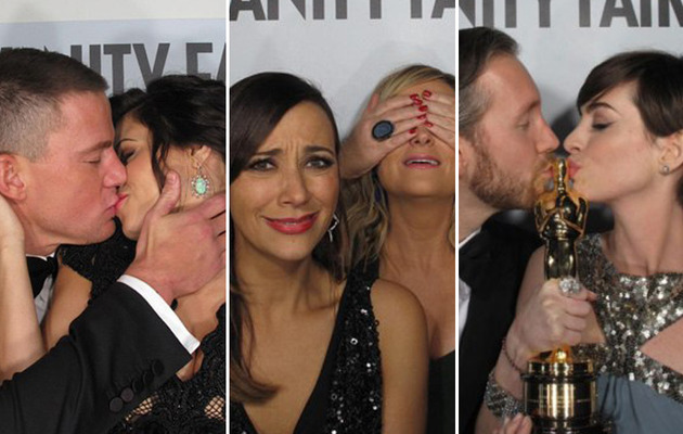 Inside the Vanity Fair Oscar Party -- See Cute Photo Booth Pics!