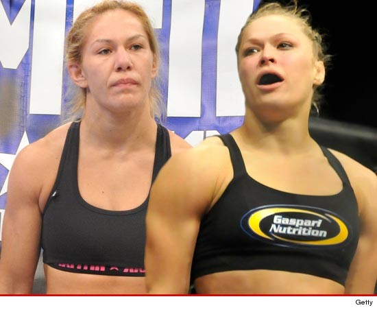 Cyborg Santos -- Ronda Rousey Is AFRAID to Fight Me!!!