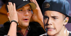 Ashton Kutcher -- 12-Year-Old Swatter ... Yup, I Did It