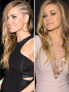 Carmen Electra Debuts Edgy New &#039;Do -- See Her Cornrows!