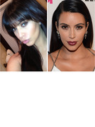 Kim Kardashian Gets Bangs -- Which Sister is More Bangin'?