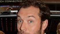 Jude Law Sues Fireplace Company -- I'm Too Hot For You!
