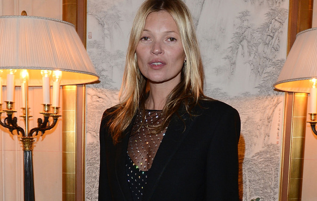 "Video: Kate Moss' Steamy ""Fifty Shades of Grey"" Reading"