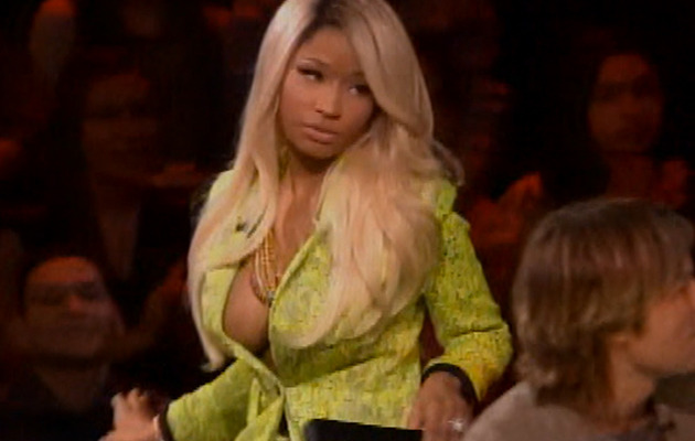 "First ""Idol"" Finalist Cut -- Nicki Minaj Nearly Walks Off Show!"