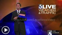 L.A. Weatherman PRANKED on Live TV -- 'Happy Birthday Hugh Janus'