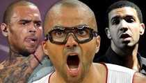 Tony Parker Lawsuit -- Club Sues Chris Brown and Drake ... THEY SHOULD PAY!!!