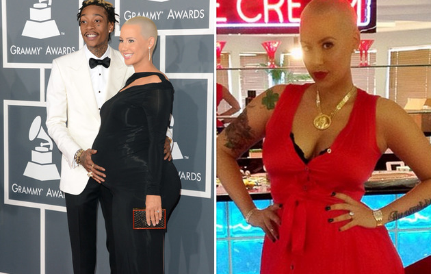 "Amber Rose Shares Pic of Post-Baby Bod, Feels ""Amazing"""