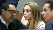 Lindsay Lohan COPS PLEA DEAL -- AVOIDS JAIL