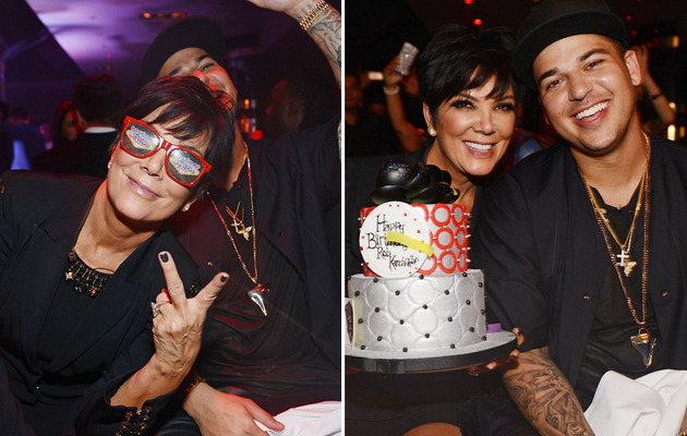 Rob Kardashian Celebrates 26th Birthday In Vegas ... with His Mom!