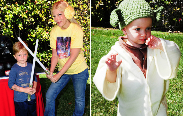 "Tori Spelling's Son Liam Gets Awesome ""Star Wars"" Birthday Bash!"