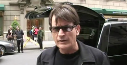 Charlie Sheen -- Private School Goons Threatened My Kids ... With a Knife