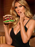 Heidi Klum Debuts Sexy Burger Ad -- But Does She Eat Them?!