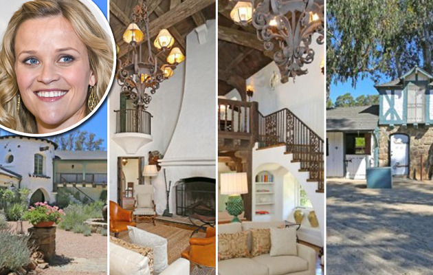 Reese Witherspoon Slashes Price on Ojai Ranch!