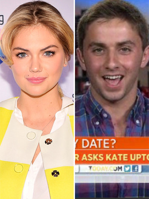 Kate Upton Responds to Prom Proposal -- Will She Go?